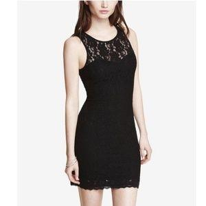 Women's Lace Open Back Dress